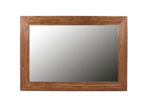 SPIEGEL - Braun, LIFESTYLE, Glas/Holz (160/230/4cm) - CARRYHOME