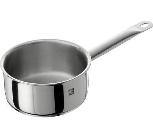 STIELKASSEROLLE Edelstahl  1,5 L  - Silberfarben, Metall (1cm) - Zwilling