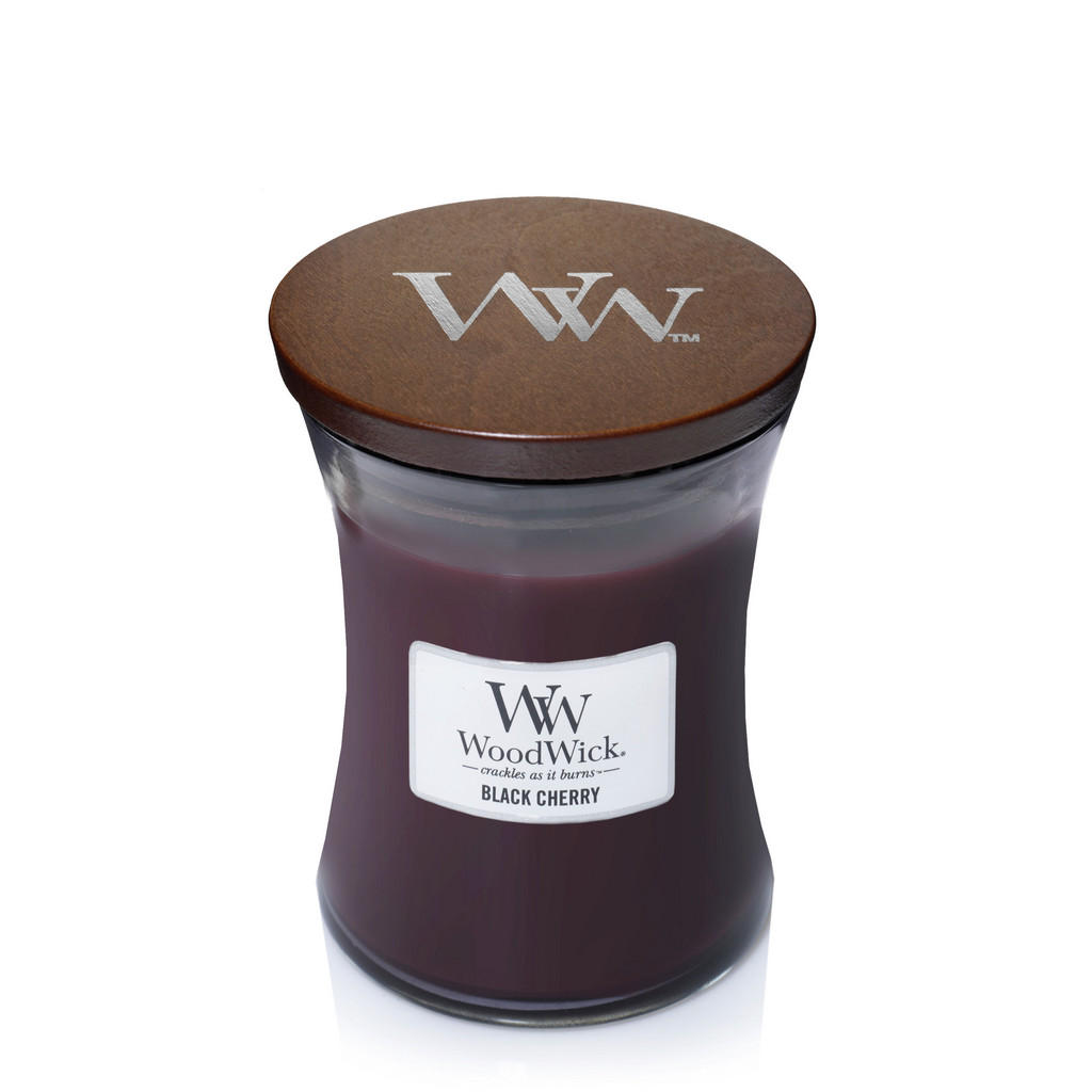 Yankee Candle Duftkerze woodwick black cherry