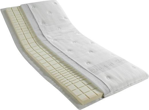 TOPPER 90/200 cm Kaltschaumkern - Weiß, Basics, Textil (90/200cm) - Hülsta
