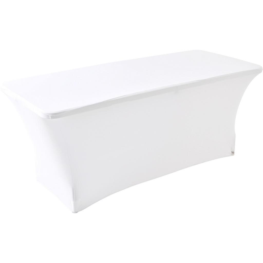 XXXLutz Tischhusse textil weiß