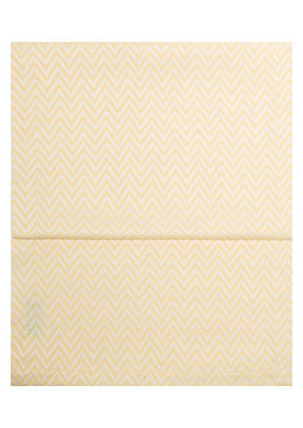 TISCHLÄUFER Textil Jacquard Gelb, Weiß 40/150 cm - Gelb/Weiß, Textil (40/150cm)