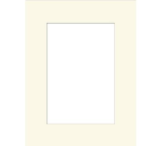 PASSEPARTOUT in Creme  - Creme, KONVENTIONELL, Papier (21/30/0.3cm)