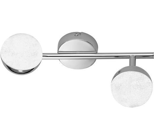 LED-STRAHLER - Chromfarben, Design, Kunststoff/Metall (30,5/16/8cm)