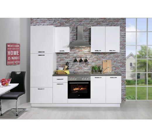 KUHINJSKI BLOK BEZ UREĐAJA  bijela  - bijela, Moderno, drvni materijal (240cm) - Boxxx