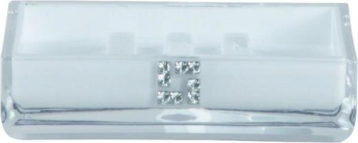 SEIFENSCHALE Weiß - Weiß, Basics, Kunststoff (11,5/3/8,5cm)