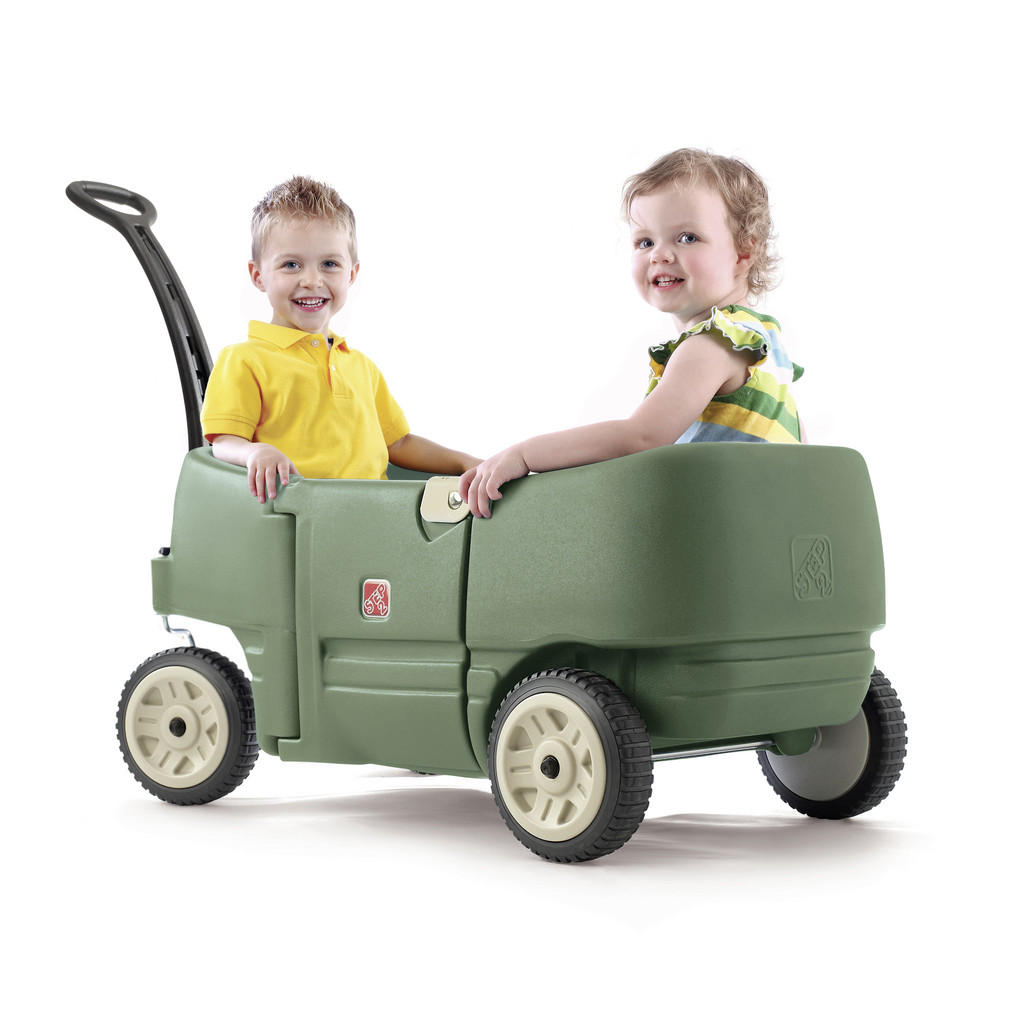 Bollerwagen for two plus Step2