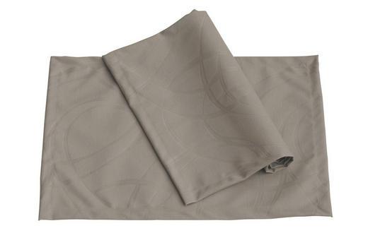 TISCHSET - Grau, Basics, Textil (33/46cm)