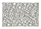 PODMETAČ ZA STOL - boje srebra, Design, papir (30/45cm) - Homeware
