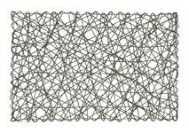 TISCHSET 30/45 cm Papier - Silberfarben, Design, Papier (30/45cm) - Homeware