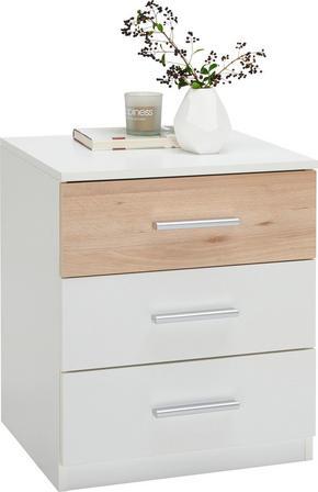 NATTDUKSBORDSSERIE - vit/bokfärgad, Design, träbaserade material/plast (46/56/41cm) - Ti`me