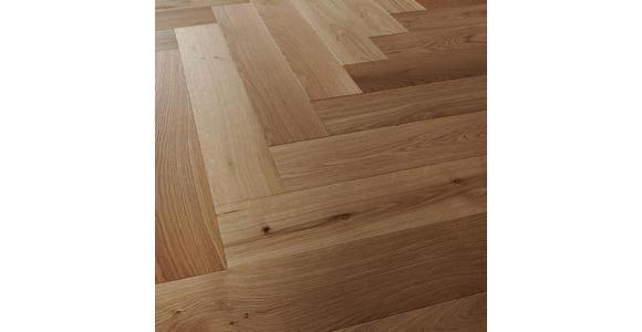 Fischgrät Eiche natur  per  m² - Eichefarben, Design, Holz (72,5/13/1,4cm) - Ambiente