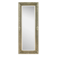 spiegel silberfarben lifestyle glas holz 60 160 6cm