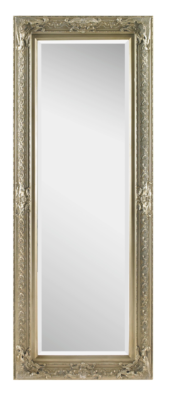 SPIEGEL - Silberfarben, LIFESTYLE, Glas/Holz (60/160/6cm) - LANDSCAPE