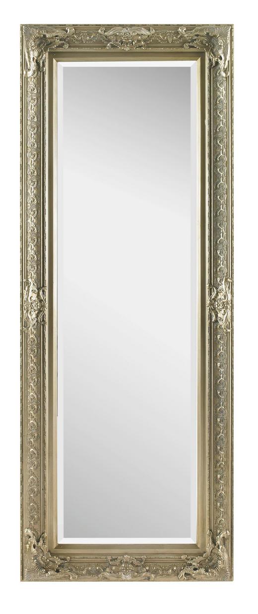 SPIEGEL Silberfarben - Silberfarben, LIFESTYLE, Glas/Holz (60/160/6cm) - LANDSCAPE