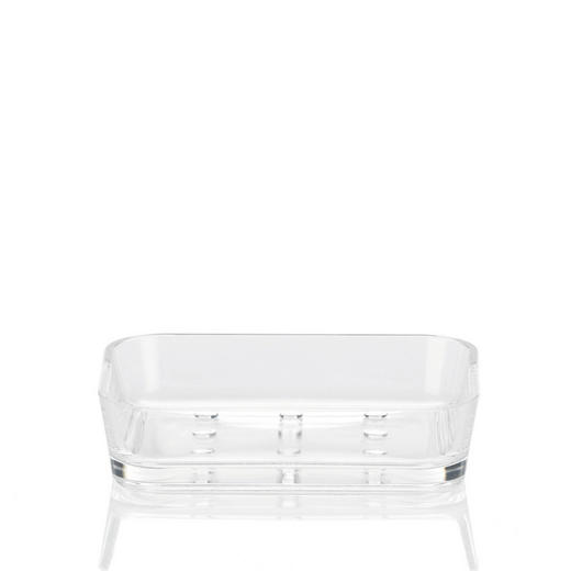 SEIFENSCHALE - Transparent, Basics, Kunststoff (12/9/3cm)