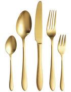 SET PRIBORA ZA JELO - boje zlata, Design, metal - Homeware Profession.