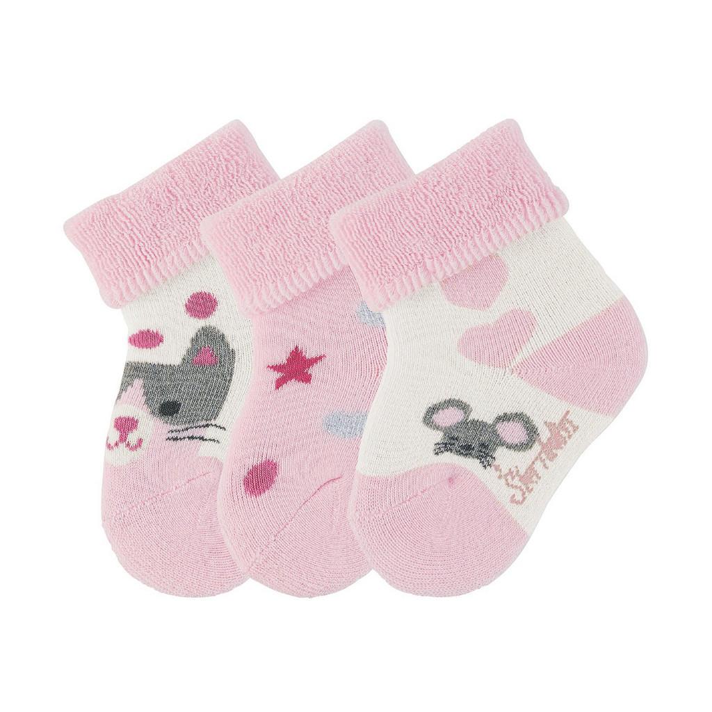 Sterntaler Babysöckchen 3er-pack