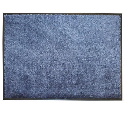 FUßMATTE 67/100 cm  - Dunkelblau, KONVENTIONELL, Textil (67/100cm) - Schöner Wohnen