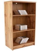 REGAL 74/110/34,6 cm hrast - hrast, Design, leseni material (74/110/34,6cm) - Boxxx