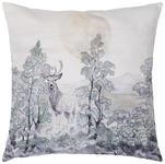 ZIERKISSEN 50/50 cm  - Anthrazit/Grau, LIFESTYLE, Textil (50/50cm) - Landscape