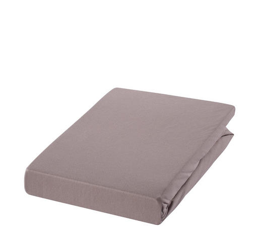 SPANNLEINTUCH 100/200 cm  - Hellbraun/Braun, Basics, Textil (100/200cm) - Estella