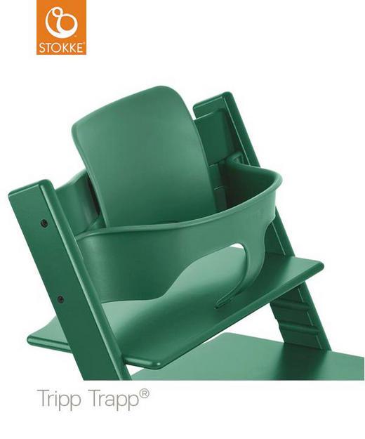Tripp Trapp Baby Set Forest Green - Dunkelgrün, Basics, Kunststoff (43/19/22cm) - Stokke