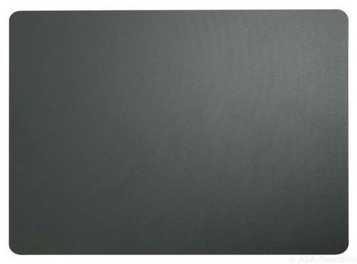 TISCHSET - Grau, Basics, Kunststoff (46/33cm) - ASA