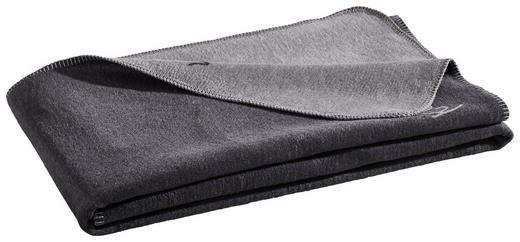 KUSCHELDECKE 150/200 cm Grau, Silberfarben - Silberfarben/Grau, Basics, Textil (150/200cm) - Novel