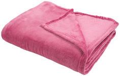 KUSCHELDECKE 150/200 cm - Beere, Basics, Textil (150/200cm) - Novel