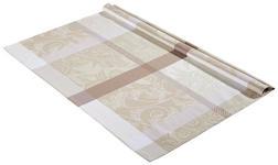 TISCHDECKE 100/100 cm - Taupe, KONVENTIONELL, Textil (100/100cm) - Esposa
