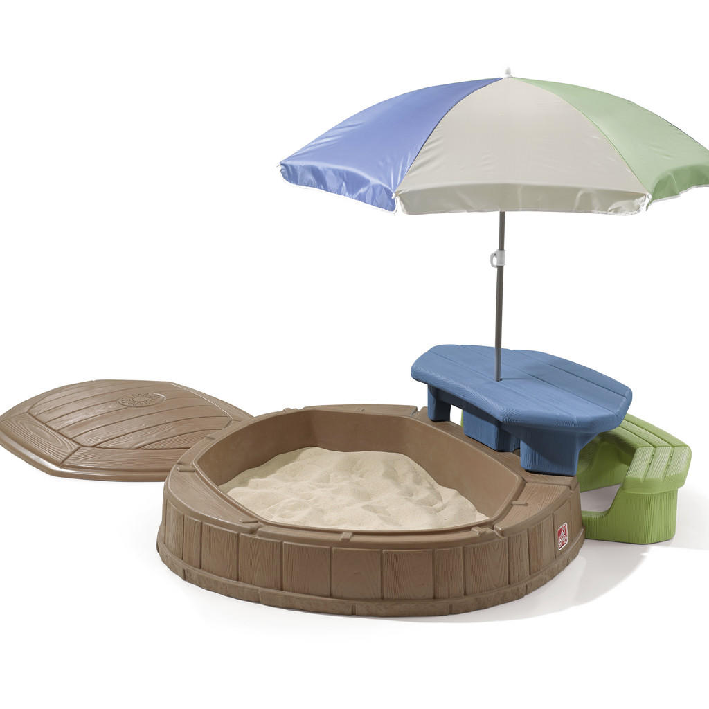 XXXLutz Sand- und wassertisch kunststoff blau