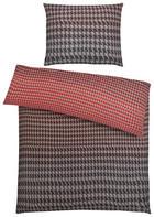 POVLEČENÍ - šedá/červená, Lifestyle, textil (200/200cm) - S. OLIVER