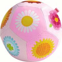 Babyball Multicolor, Rosa - Multicolor/Rosa, Basics, Kunststoff (14cm) - Haba