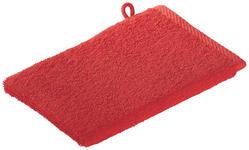 WASCHHANDSCHUH - Rot, KONVENTIONELL, Textil (16/22cm) - Esposa