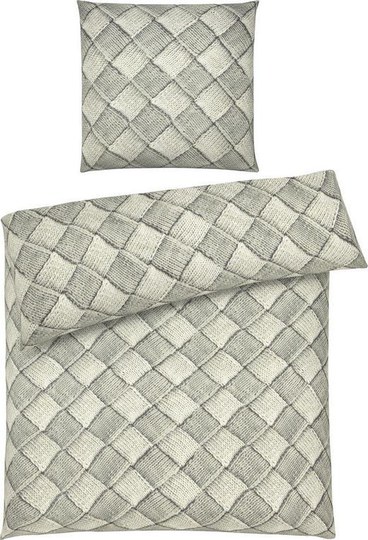BETTWÄSCHE Mikrofaser Grau 135/200 cm - Grau, Design, Textil (135/200cm) - Esposa