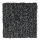 BADEMATTE  Grau  60/60 cm - Grau, Basics, Kunststoff/Textil (60/60cm) - Esposa