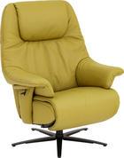 RELAX FOTELJA - zelena, Konvencionalno, koža (82/107/87cm) - HIMOLLA
