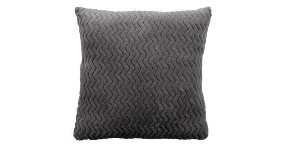Zierkissen Talisha - Grau, MODERN, Textil (40/40cm) - Luca Bessoni