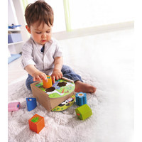 Sortierbox - Multicolor, Basics, Holz (14,6/15,3/8,5cm) - Haba