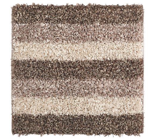 BADTEPPICH  Taupe  60/60 cm     - Taupe, Basics, Kunststoff/Textil (60/60cm) - Kleine Wolke