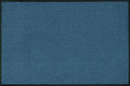 FUßMATTE 120/180 cm Uni Blau - Blau, Basics, Kunststoff/Textil (120/180cm) - Esposa