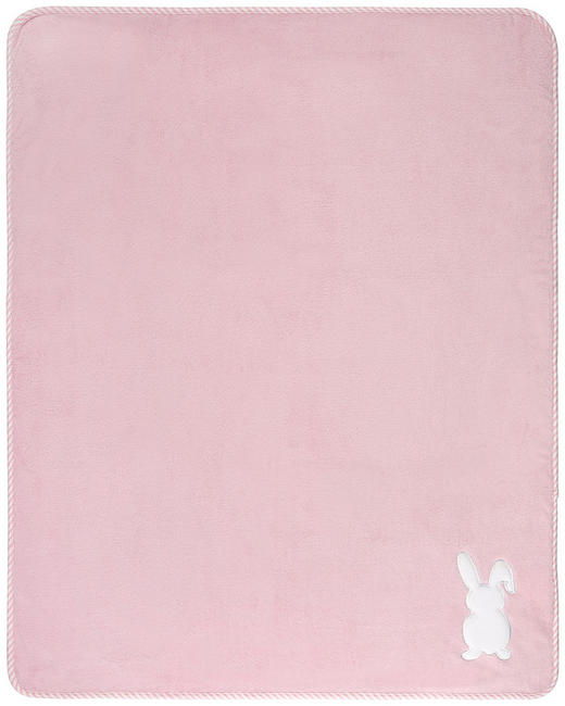 SCHMUSEDECKE - Rosa, Basics, Textil (75/100cm) - My Baby Lou