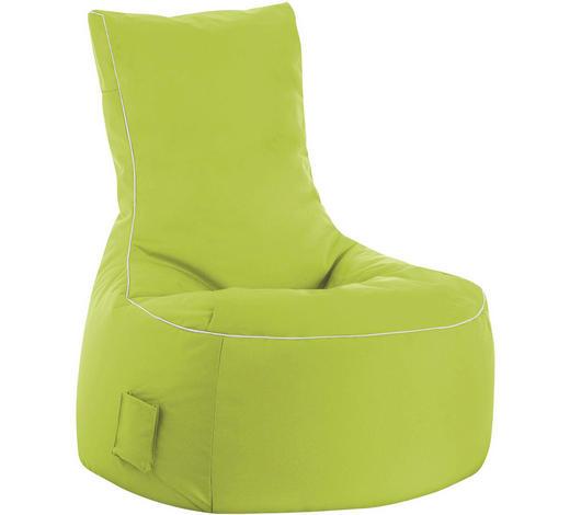SITZSACK in Textil Grün - Weiß/Grün, Design, Textil (95/90/65cm)