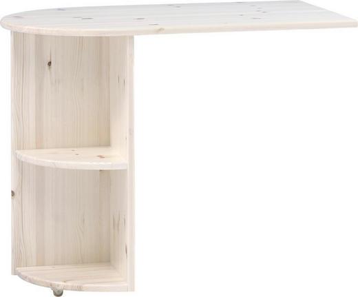 ANBAUSCHREIBTISCH Weiß - Weiß, Design, Holz (60/72/93cm) - Carryhome