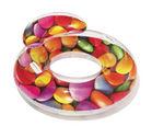 SCHWIMMRING 43186 - Multicolor, Basics, Kunststoff (118cm) - Bestway