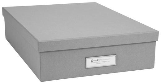 KARTONAGE - Grau, Basics, Karton (35/26/8,5cm)