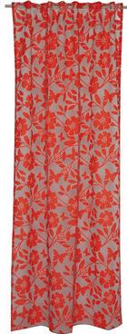 VORHANGSCHAL    130/250 cm - Rot/Grau, Textil (130/250cm) - Joop!