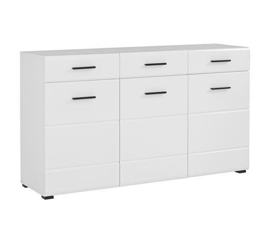 SIDEBOARD Weiß  - Anthrazit/Schwarz, Design, Holzwerkstoff/Kunststoff (150/86/42cm) - Carryhome