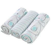 3/1 TETRA PLENICE BS7575MW - modra/bela, Basics, tekstil (75/75cm) - My Baby Lou